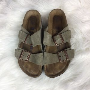 • Birkenstock Arizona soft footbed suede Leather